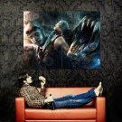 Riddick 2013 Mud Demons Painting Art Huge 47x35 Print Poster