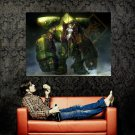 Hot Anime Girl Mecha Robot Painting Art Huge 47x35 Print Poster