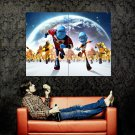 Escape From Planet Earth Animation 2013 Huge 47x35 Print Poster