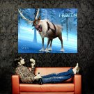 Frozen Sven Animation 2013 Huge 47x35 Print Poster