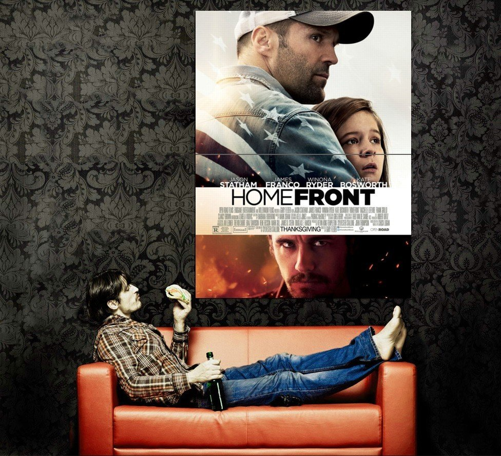 Homefront Movie 2013 Huge 47x35 Print Poster
