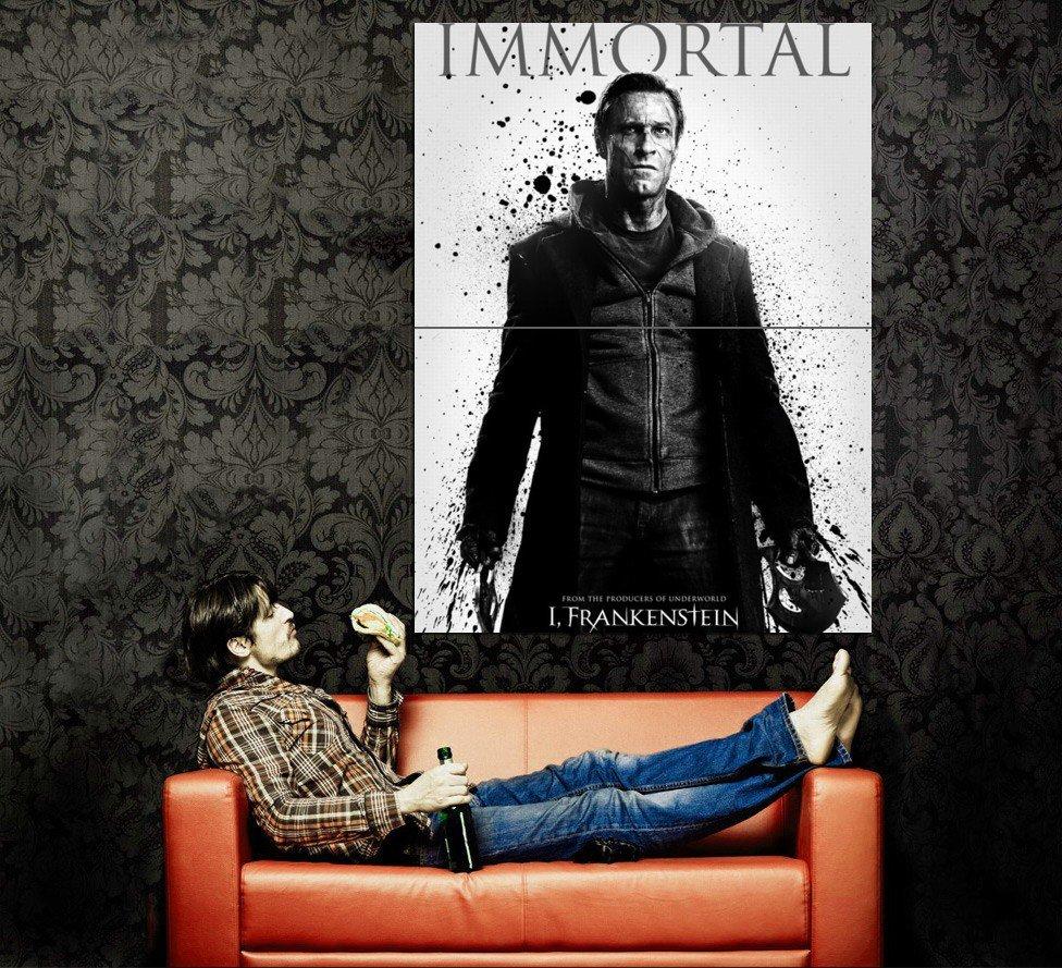I Frankenstein Immortal Movie 2014 Huge 47x35 Print Poster