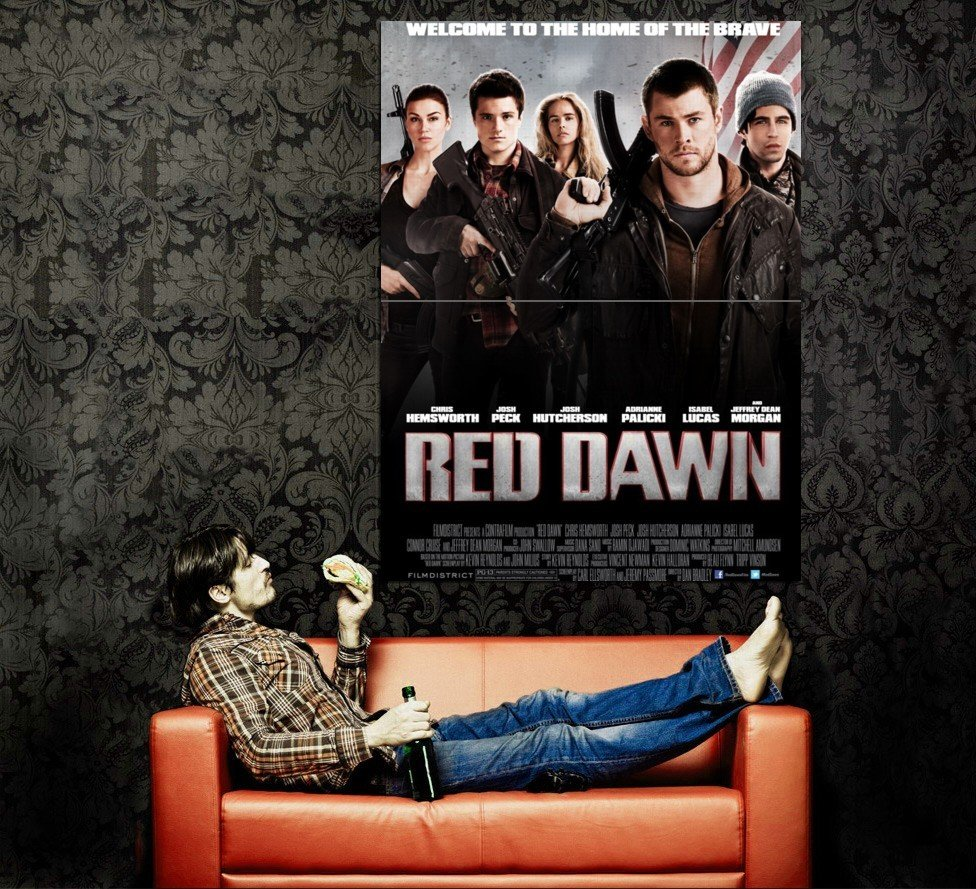 Red Dawn Movie 2012 Huge 47x35 Print Poster
