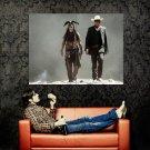 The Lone Ranger Depp Hammer Movie 2013 Huge 47x35 Print Poster