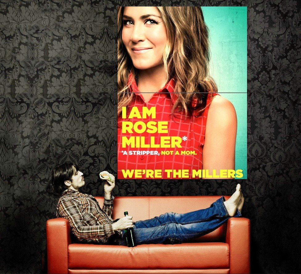 We Re The Millers Aniston Movie 2013 Huge 47x35 Print Poster