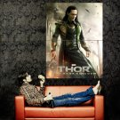 Thor The Dark World Loki Hiddleston Movie Huge 47x35 Print Poster
