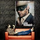 The Lone Ranger Armie Hammer Movie 2013 Huge 47x35 Print Poster