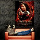 The Hunger Games Catching Fire Katniss Movie Huge 47x35 Print Poster