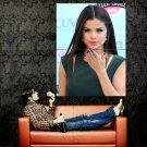 Selena Gomez Kiss Sexy Pop Singer Music Huge 47x35 Print Poster