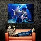 Capricorn Zodiac Astrological Sign Art Huge 47x35 Print Poster