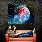 Scorpio Zodiac Astrological Sign Art Huge 47x35 Print Poster