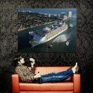 Oasis Cruise Ship Huge 47x35 Print Poster