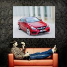 Mercedes Benz E Class Coupe Sportscar Huge 47x35 Print Poster