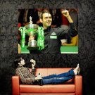 Ronnie O Sullivan Cup Snooker Sport Huge 47x35 Print Poster