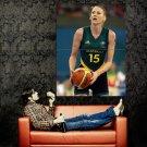 Lauren Jackson Basketball Sport Huge 47x35 Print Poster