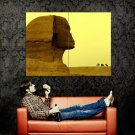 The Great Sphinx Giza Egypt Huge 47x35 Print Poster
