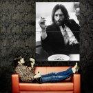John Lennon BW Music Legend Huge 47x35 Print Poster