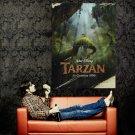 Tarzan Walt Disney Animated Film Huge 47x35 Print Poster