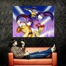 Darkwing Duck Walt Disney Art Huge 47x35 Print Poster