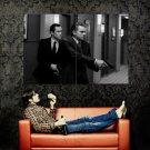 Leonardo DiCaprio Inception Movie BW Huge 47x35 Print Poster