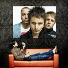 Matthew Bellamy Muse Music Huge 47x35 Print Poster
