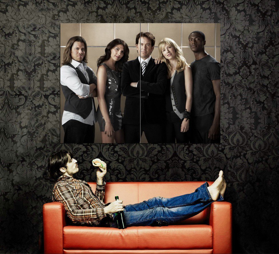 Leverage TV Series Cast Characters Huge 47x35 Print Poster