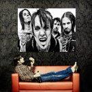 Papa Roach BW Band Music Huge 47x35 Print Poster