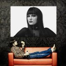 Jessie J Jessica Ellen Cornish BW Huge 47x35 Print Poster