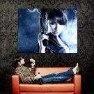 Hot Girl With Guns Weapon Smoke Huge 47x35 Print Poster