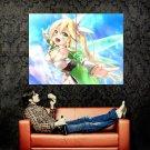 Kirigaya Suguha Sword Art Online Art Huge 47x35 Print Poster
