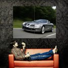 Mercedes Benz SLR McLaren Roadster Huge 47x35 Print Poster