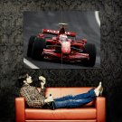 Kimi Raikkonen F1 Racing Formula One Huge 47x35 Print Poster