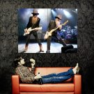ZZ Top Rock Music Live Concert Huge 47x35 Print Poster