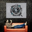 Girl Spacesuit Cool Art Huge 47x35 Print Poster