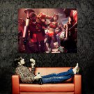 Team Fortress Video Game Cool Art Huge 47x35 Print Poster