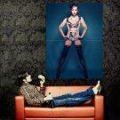 Diana Vickers Hot Actress Sexy Stocking Huge 47x35 Print Poster