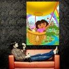 Dora The Explorer Air Balloon Art Huge 47x35 Print Poster
