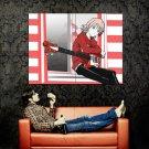 FLCL Guitar Haruhara Haruko Anime Art Huge 47x35 Print Poster