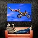 Freestyle Motocross Jump Extreme Sport Huge 47x35 Print Poster