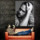 Heath Ledger Actor BW Portrait Huge 47x35 Print Poster