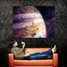 Jupiter Juno NASA Space Science Art Huge 47x35 Print Poster