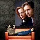 The X Files Mulder And Scully TV Series Huge 47x35 Print Poster