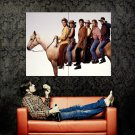 Friends Characters Horse TV Series Huge 47x35 Print Poster
