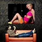 Paris Hilton Hot Babe Sexy Body Huge 47x35 Print Poster