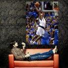 Vince Carter Dallas Mavericks Dunk NBA Huge 47x35 Print Poster
