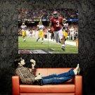 Trent Richardson Football NFL Sport Huge 47x35 Print Poster