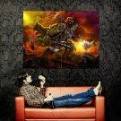 Flower Demon Fantasy Cool Funny Art Huge 47x35 Print Poster