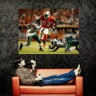 Ronnie Brown Miami Dolphins NFL Sport Huge 47x35 Print Poster