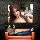 Rosie Jones Hot Portrait Glasses Model Huge 47x35 Print Poster