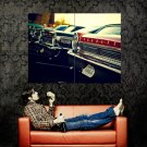 Ford Galaxie Classic Retro Car Huge 47x35 Print Poster
